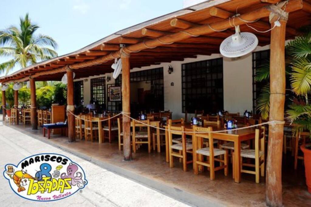 Popular Restaurant & Bar, just downstairs
