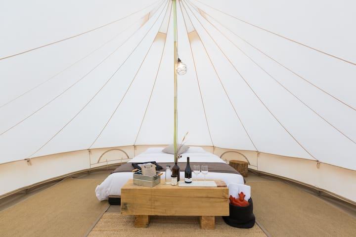 Bay of Fires Bush Retreat Bell Tent