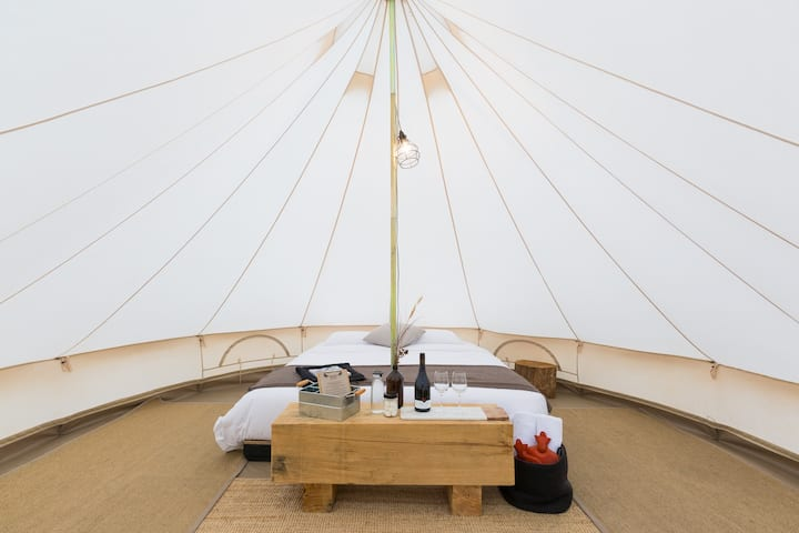 Bay of Fires Bush Retreat Bell Tent