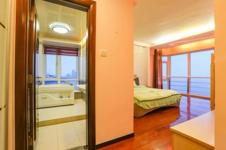 全海景四人房可加床位 - Zhuhai - Dom