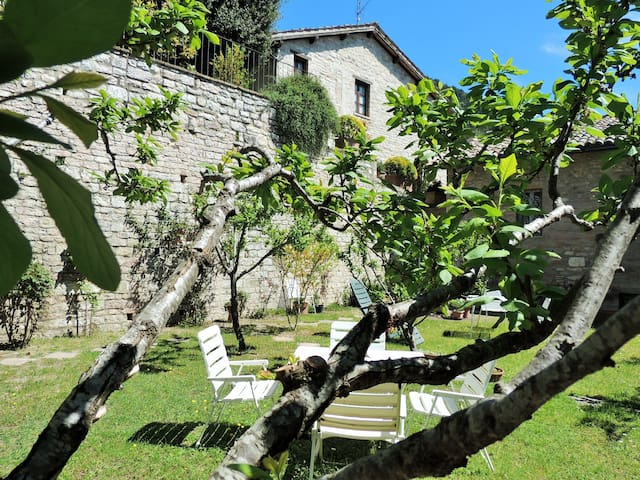 My home with garden in old town - Gubbio - Apartment
