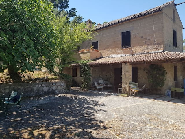 Charming cottage & pool, Caserta countryside