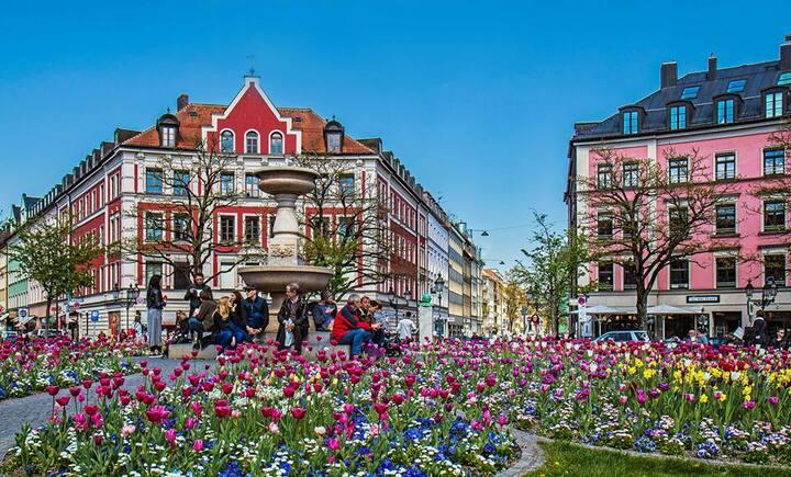 Modernes Apartment im Herzen von München