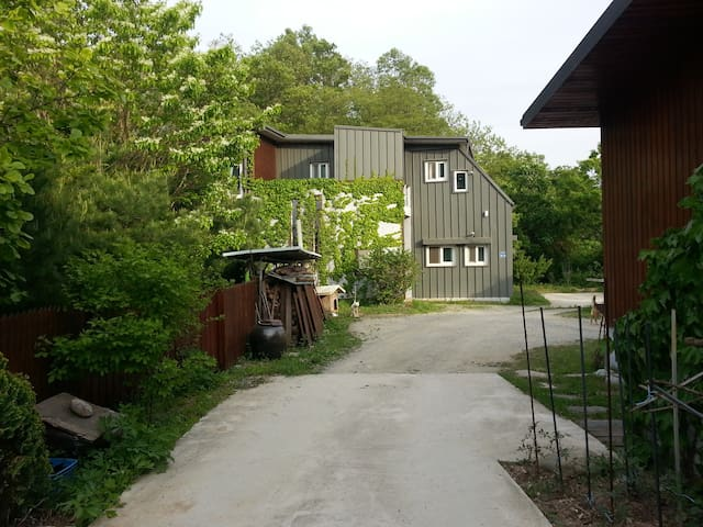 친환경 저에너지 단독주택이며 숲속의 별빛전원주택 - Geumgwang-myeon, Anseong-si - Casa