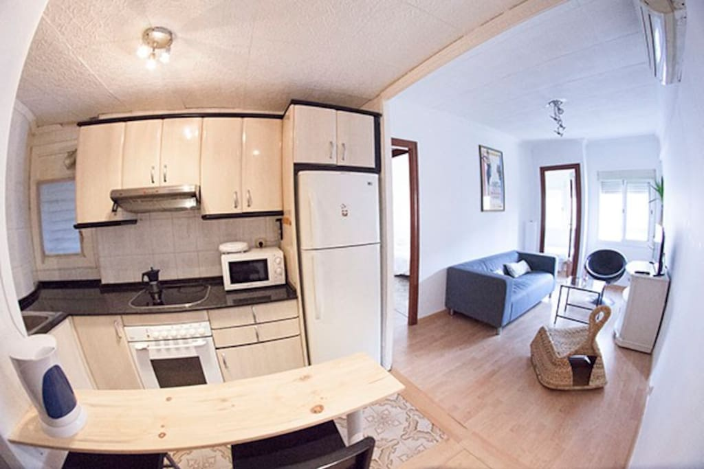Cozy & confortable apartment in Hospitalet