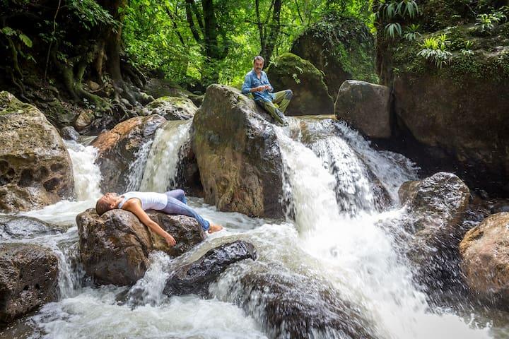 Stunning Eco villa  with pristine river