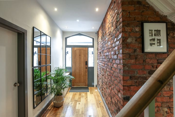Entrance way - leading to Kitchen Diner, Lounge, Bedroom 1 and the ground floor shower room.