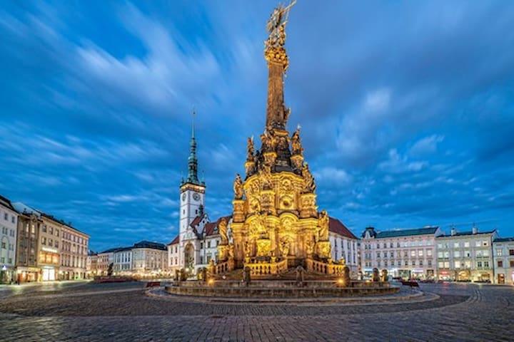 Experience Olomouc the little Prague of CZE :-)