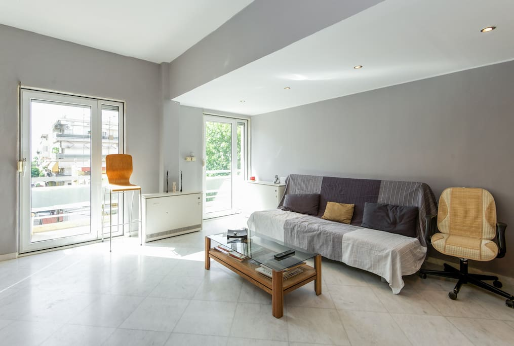Lounge, triple sofa - bed Σαλόνι, τριπλός καναπές - κρεβάτι