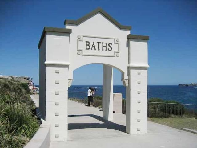 Entry to The Coogee Baths