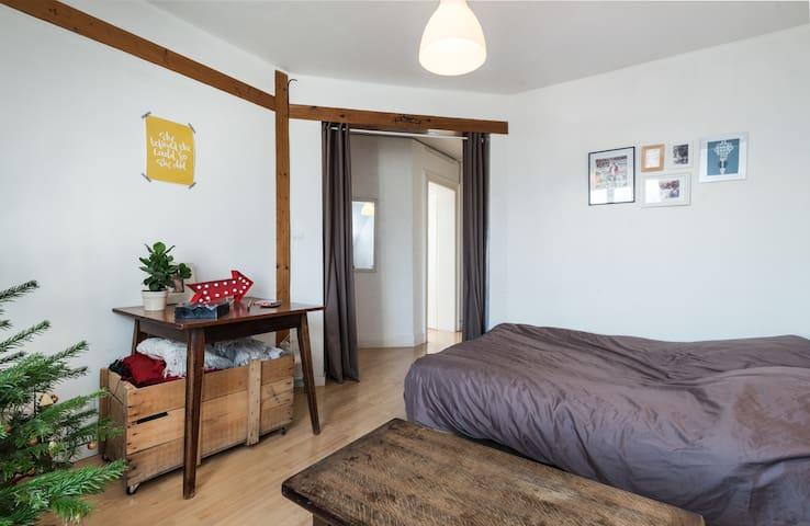 Cosy bedroom in Strasbourg - Strasbourg - Apartment
