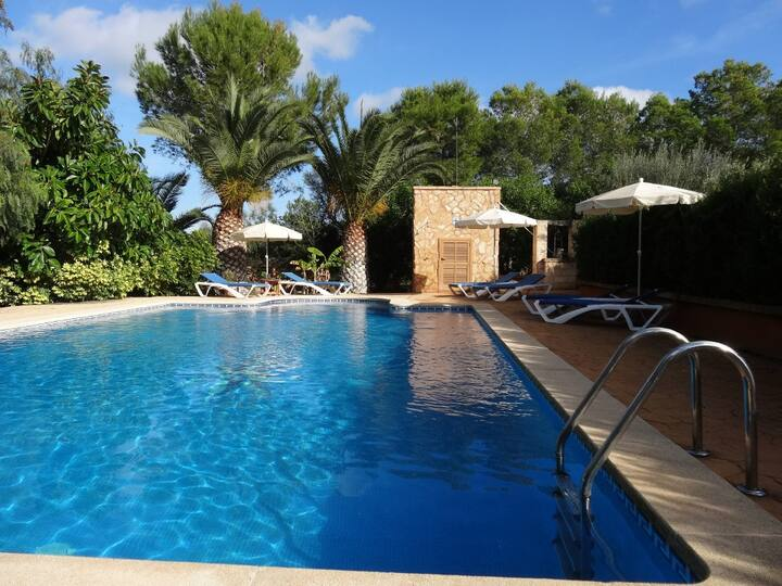 M4V3370 Finca mit Pool bei Campos; max. 6 Pers.