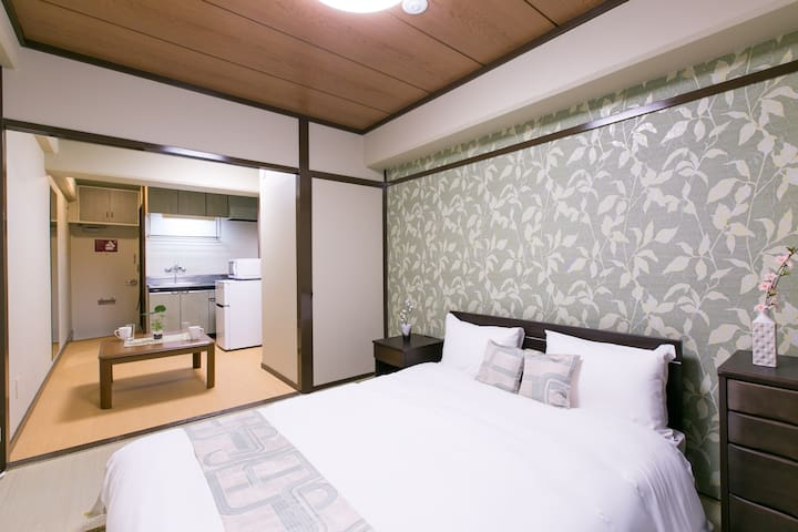 Base Hotel 406 : 5 mins walk from Hiroshima Sta