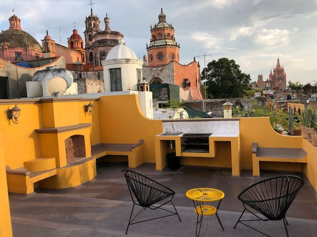 Amazing View Downtown San Miguel De Allende Apt.