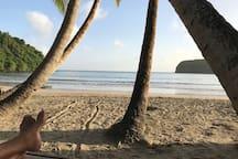 Beach in the Parish of  St. David