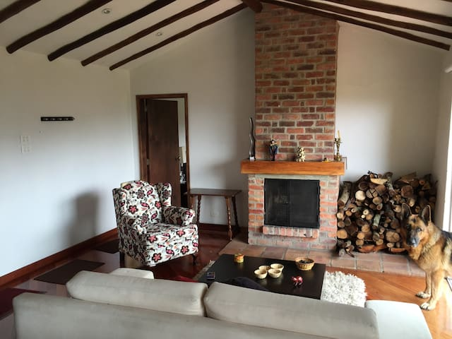Cabaña con chimenea en Subachoque - Subachoque - Appartement