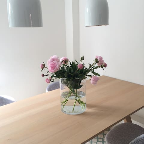 Beautiful and bright design apartment