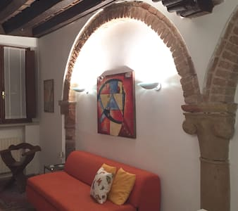 In the heart of Mantova, a romantic apartment - 曼圖亞