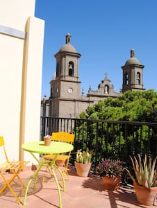 Cute apartment with views. Agüimes old town square - Agüimes