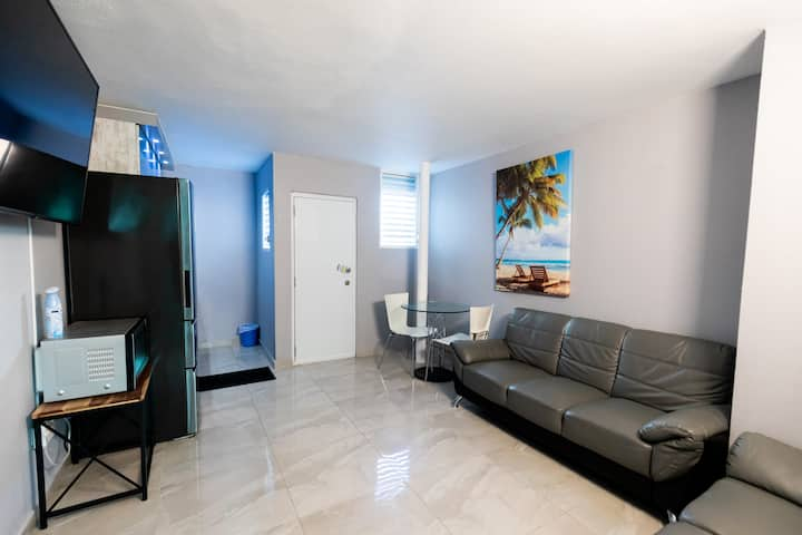 Modern, Cozy, Steps from the Beach & Airport Condo