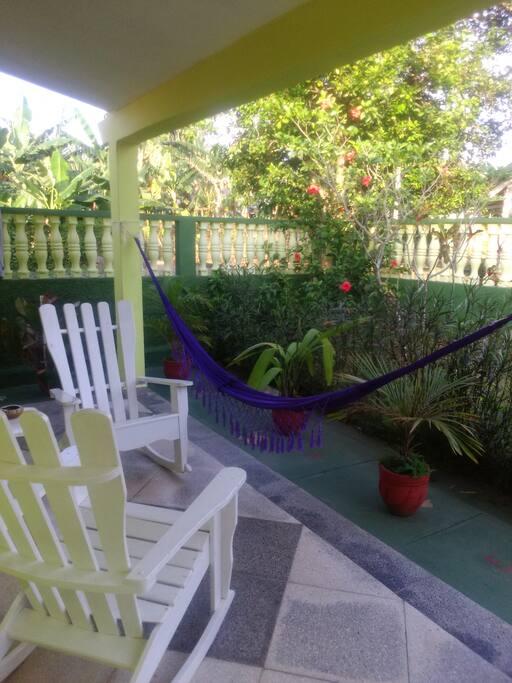 tranquilidada del jardin