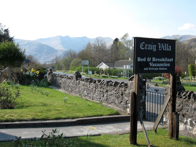 Craig Villa Guest House - Dalmally - Bed & Breakfast