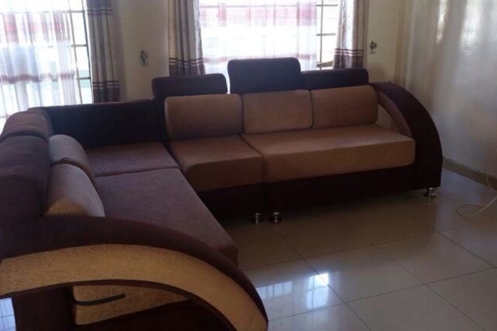 6 seater couch Locally and tastefully made