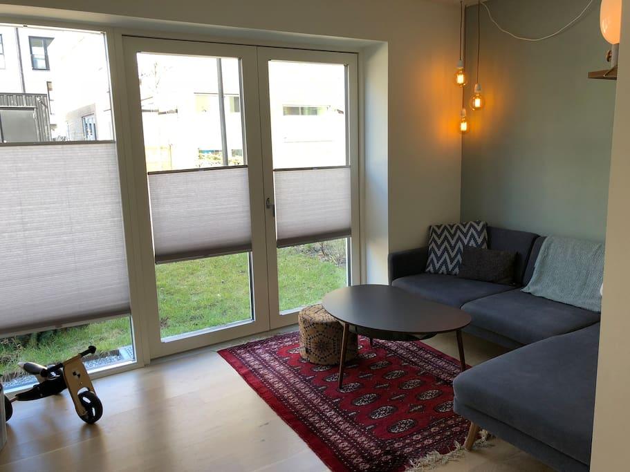 Living area, ground floor