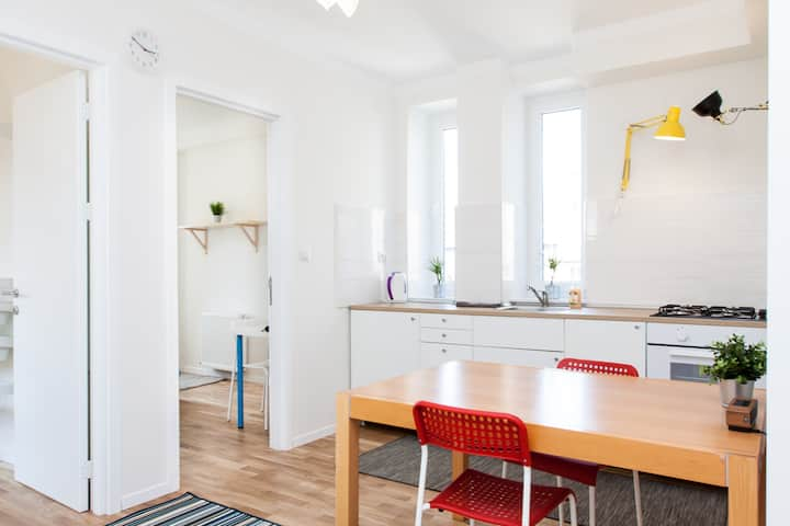 Central Modern & Cool Double Room