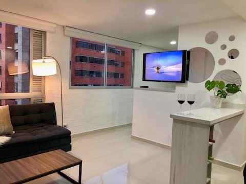 Hermoso apartamento en el poblado