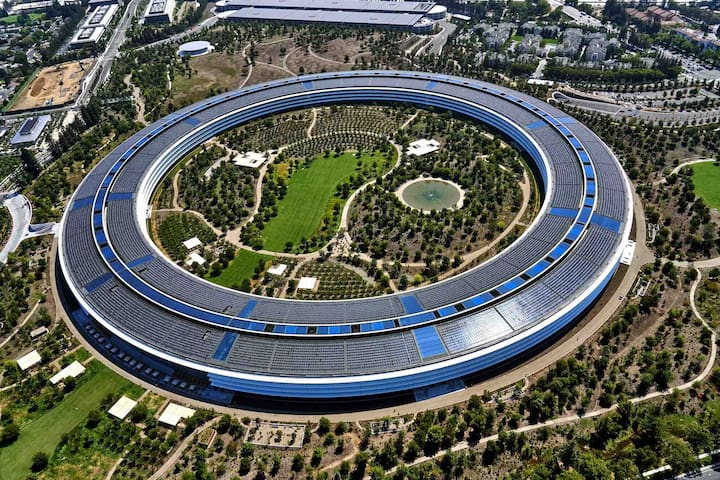 3.5 miles to the new Apple Park