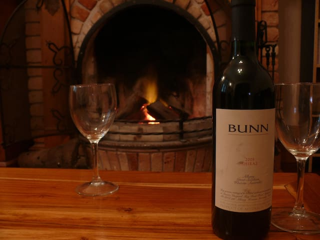 Sample the local wines in comfort