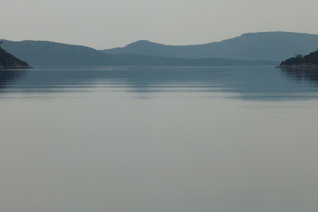 view of the bay Slano
