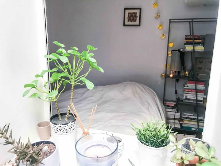 Cocooning flat with terrace in Le Marais