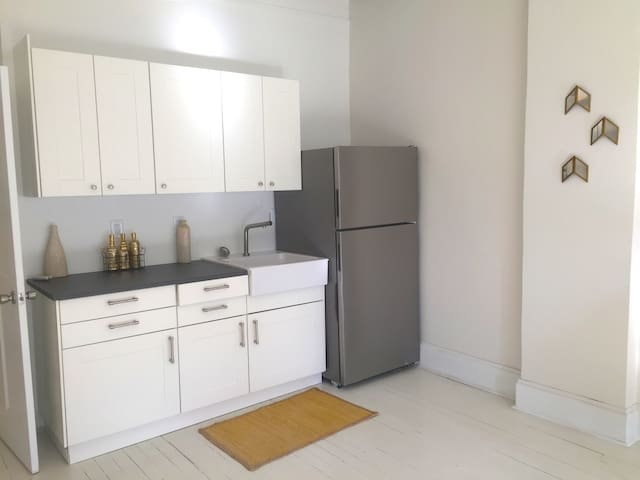 Stylish modern studio apt on the Downtown Mall! - Charlottesville - Apartment