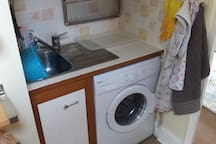 Very well equipped not just the kitchen sink !