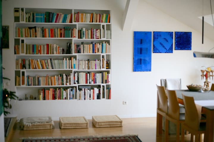Stylish B&B for Booklovers - Wien - Bed & Breakfast
