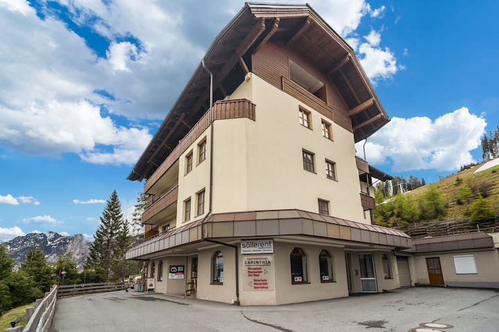 Nice apartment in fantastic location on the Nassfeld ski piste