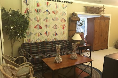 Private Entrance Cozy Studio, Walk To Everything! - Wellesley - House