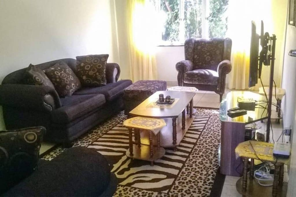 Lounge with  Couch, TV, DSTV