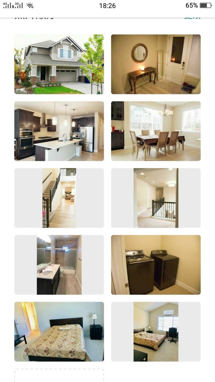 4 豪华温馨的房间,适合学生/上班族/旅游者的最佳选择