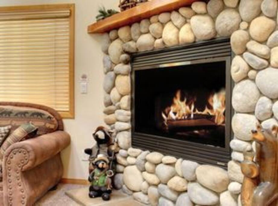 Cozy Gas Fire Place