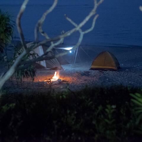 体験!!手ぶらで沖縄ビーチキャンプ!!