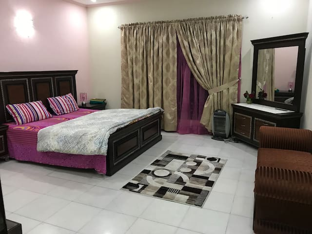 Big room spaces cosy family environment in Dha