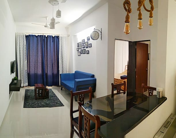 Cozy 1 BHK Apartment in Varsoli Alibag Unit 5