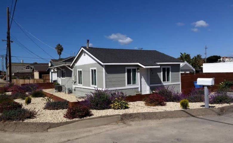 Cozy 3bd 2ba beach house, 3 min from beach