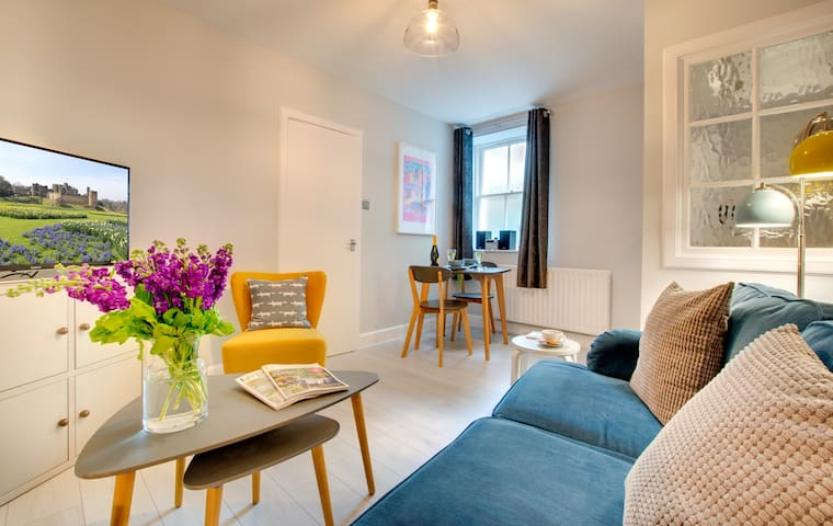 Newly refurbished apartment in historic Alnwick