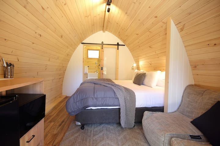 Glamping Pod with Ensuite