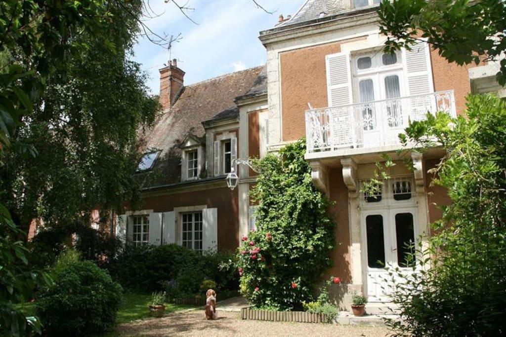 L 39 aph lide demeure de charme au coeur du perche maisons - Maison de charme perche ...