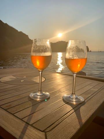 Casa Corbella - romantico pernotto in barca